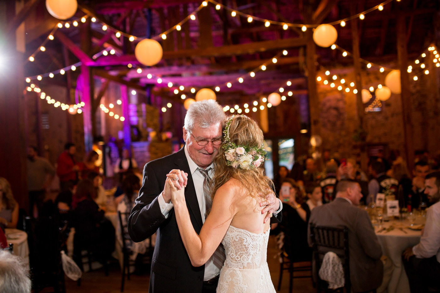 bride-father daughter dance