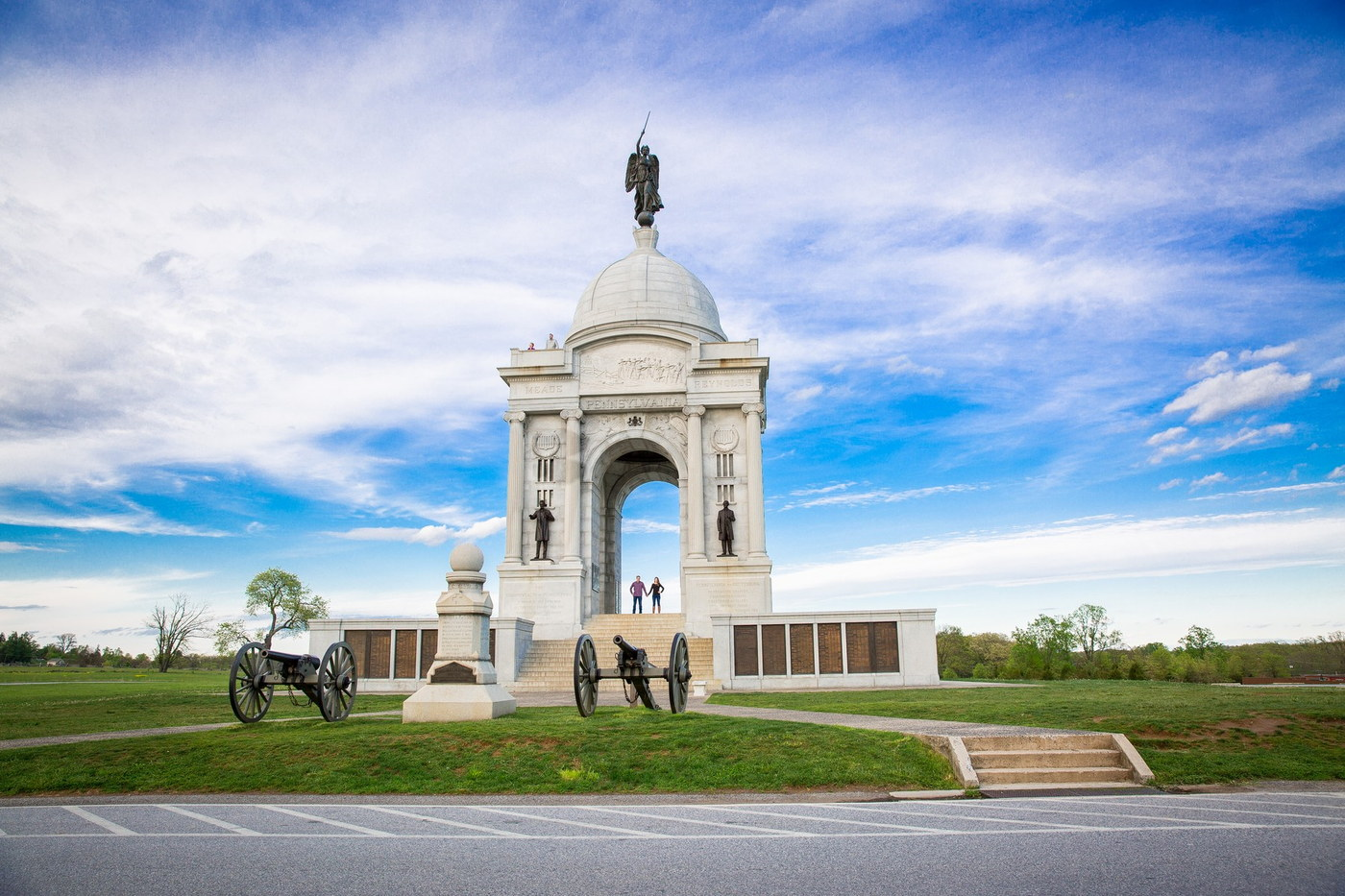 gettysburg monument engagement photography
